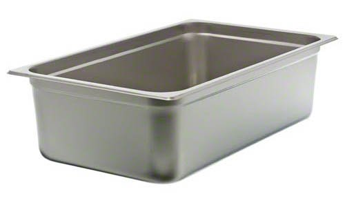 a steam table pan available at restaurant supply houses or even on amazon