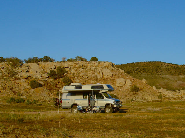Airstream At Rabbit Valley