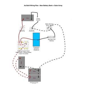 wiring diagrams for bat bank trimetric and solar upgrades. Black Bedroom Furniture Sets. Home Design Ideas